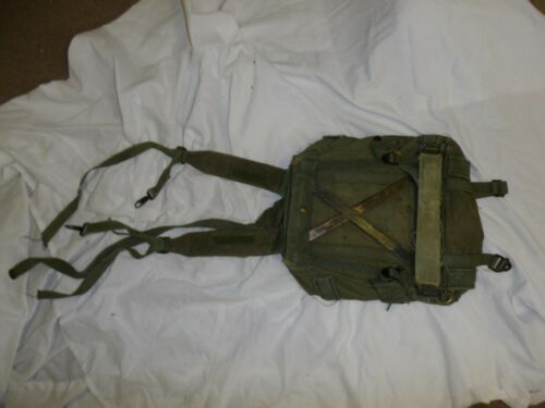 L1T-5 Vietnam RVN US  X-Frame ruck sack backpack canvas web original