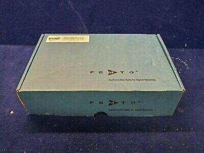 Femto Fwpr-s Femtowatt Photoreceiver W Uv Enhanced Si Photodiode Thorlabs Sm1a6