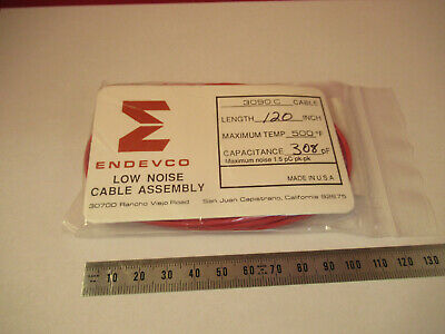 Meggitt Endevco Low Noise Cable 3090c For Accelerometer As Pictured 14-a-37
