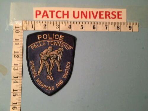 FALLS TOWNSHIP PENN SPECIAL WEAPONS AND TACTICS  SHOULDER PATCH  L137