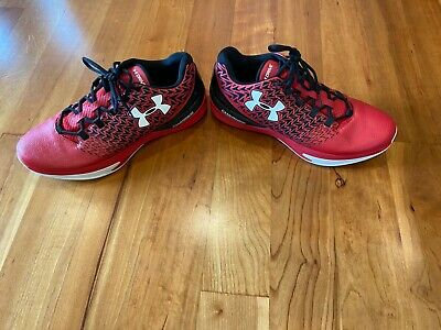 Under Armour Mens Charged Drive Shoes Red Low Top,, Size 13 1274422-002