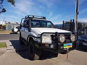 2001 Toyota Landcruiser Duel Cab Tray Ute DIESEL LOTS OF EXTRAS Williamstown North Hobsons Bay Area Preview