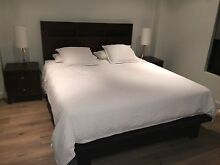 Bedroom furniture suite - queen bed, lowboy chest, 2 x bedside tables North Perth Vincent Area Preview