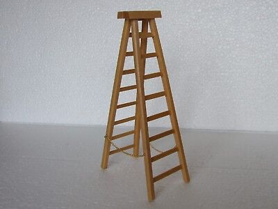 Dolls House  1:12  Furniture  Pine Stepladder