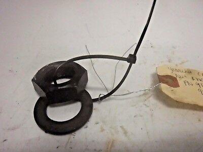 Yamaha crankshaft nut & washer 90170-24m22-00 90101-25m02-00 1990 & later 75hp+ for sale  Bradenton