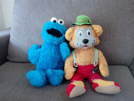 Soft toy characters