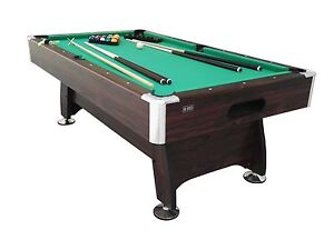 NEW 7ft x 4ft POOL TABLE with accessories Hope Valley Tea Tree Gully Area Preview