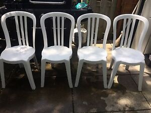 Patio Chairs Plastic for Deck or Cottage