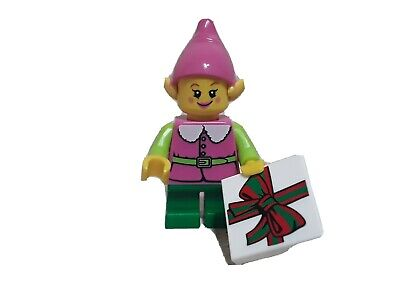 Lego PINK ELF Minifigure Christmas Winter CMF Store Exclusive NEW Rare sold out