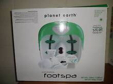 Planet Earth Foot Spa with all accesories - used once Nundah Brisbane North East Preview