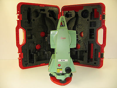 Leica Tc705 5 Total Station For Surveying One Month Warranty