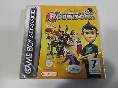 DESCUBRIENDO A LOS ROBINSONS Disney Juego Game Boy Advance Nintendo Nuevo AM