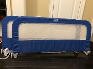 Toddler bed rails