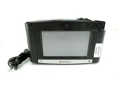 Kronos Intouch 9000 Time Clock Biometric Id Reader 8609000-012 W Power Adapter