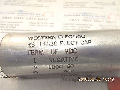 Western Electric Ks-14330 Capacitor
