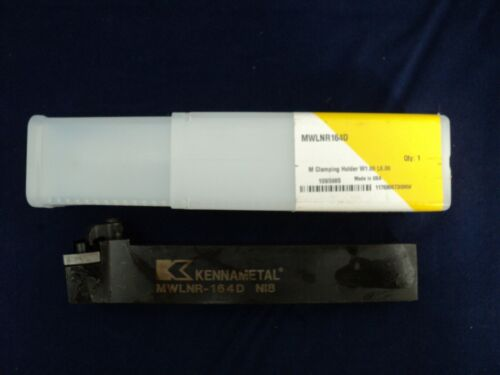 NIB Kennametal MWLNR164D 1095985 RIGHT HAND INDEXABLE TURNING TOOLHOLDER