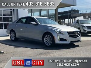 2015 Cadillac CTS Sedan AWD 2.0L Turbo, Automatic