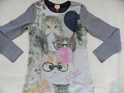 PEZZO D´ORO schönes Langarmshirt Katzen Gr. 152 NEU ST519 online kaufen