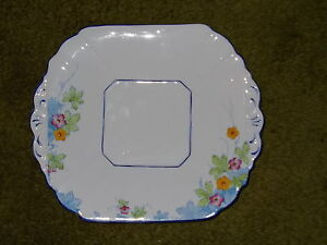 VINTAGE MIS-MATCH SHABBY CHIC CHINA TEA SET CAKE PLATES / SANDWICH PLATES