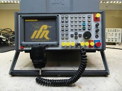 Aeroflex Ifr Com-120a Communications Service Monitor Spectrum Analyzer Loaded