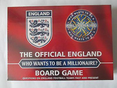 The Official England Who Wants To Be A Millionaire Board Game. New & Sealed.