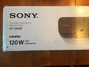 Sony HT-S100F 2 Channel Sound Bar - Brand New