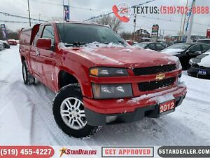 2012 Chevrolet Colorado LT | 4X4 | MATCHING TOPPER INCLUDED