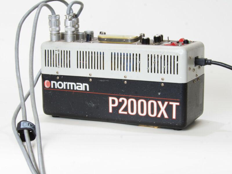 Norman P2000XT Power Pack!!! STUDIO UNIT!!! TESTED!!!