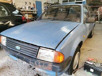 Ford Escort Estate 1.1L 1985 for restoration or spares **DEPOSIT NOW TAKEN**