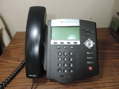 3 Genuine Polycom Ip450 Business Conference Desktop Phone 2201-12450-001