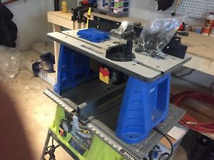 Mastercraft router table never used