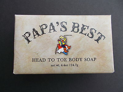 Papa's Best Antifungal Tea Tree Oil Soap For Athletes Foot Jock Itch Acne 4.4