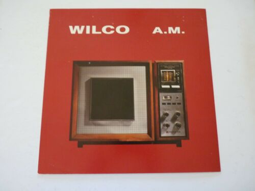 Wilco A.M. 1995 LP Record Photo Flat 12X12 Poster