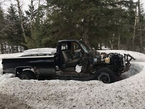 1986 Chevy k10 parts truck or project