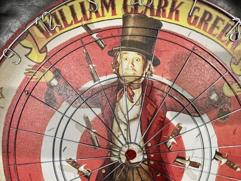 William Clark Green *NEW* Dart Board RARE