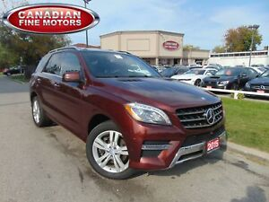 2015 Mercedes-Benz M-Class NAVI/ CAMERA/ PANORAMIC/BLUETEC