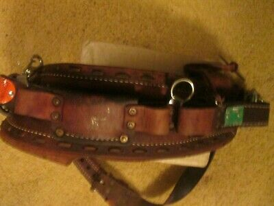 Vintage Buckingham Climbers Harness And Climbing Belt Size 22