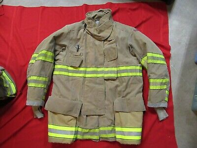 Mfg. 2012 Globe Gxtreme 46 X 35 Firefighter Turnout Bunker Jacket Fire Rescue