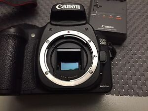 Canon 20D and lenses
