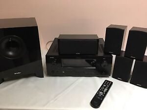 Denon AVR-2309 amplifier,  5.1 speakers and cables Connolly Joondalup Area Preview