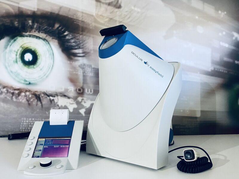 Oculus Easyfield perimeter visual field Analyzer In Excellent Working condition