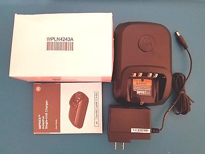 Motorola Wpln4243a Mototrbo Impres Charger Base And 25009297001 Power Supply