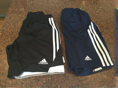 Adidas Clima Cool navy and black shorts youth size M