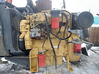 Caterpillar C4.4 Turbo Diesel Engine Power Unit Video 3054 Perkins Cat 4.4