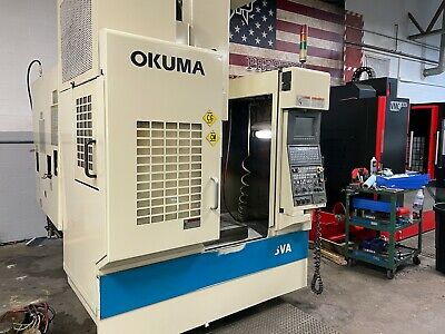 Okuma Mx-45 Va -see Video- Cnc Vertical Machining Center Haas Hurco Makino Mill