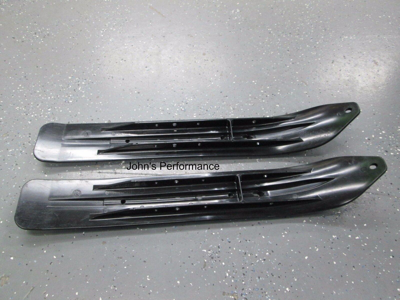 OEM Arctic Cat Black Skis 2006-2017 Z120 ZR120 F120 SnoPro 120 Set of 2 1603-593
