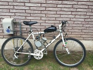 80 cc gas bicycle