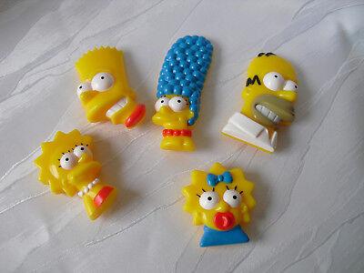 1 Satz  THE SIMPSONS Figuren  Homer Marge Bart usw. kompl. Satz  NEU / OVP
