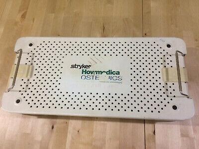 Stryker Howmedica Osteonics Sterilization Tray Only -- Locks Fine