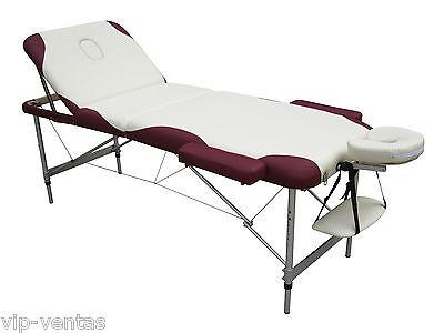 Camilla de masaje aluminio para tratamientos y terapias modelo VIP3215CB